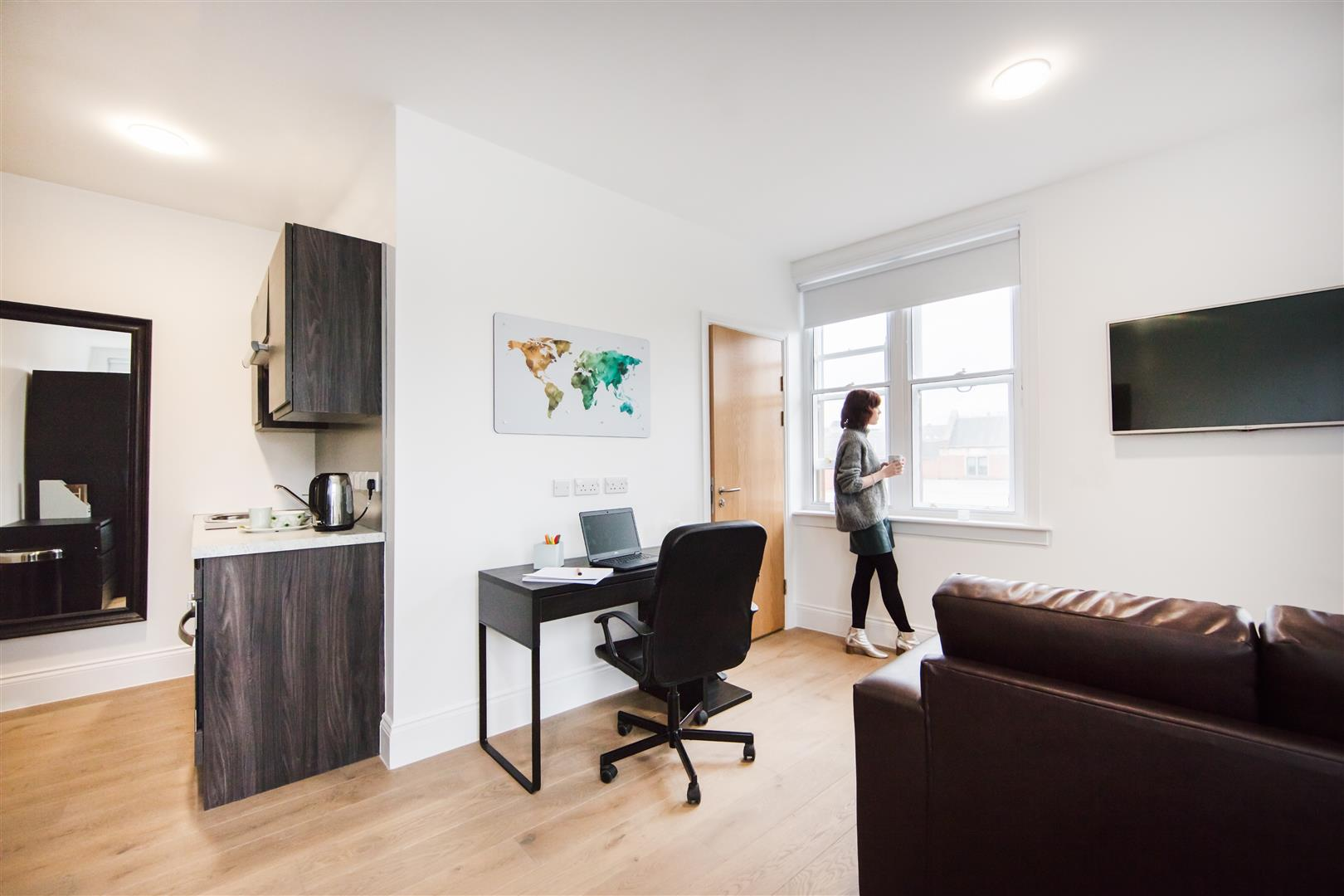 The Bruce Building Newcastle Upon Tyne, 1 Bedrooms  Studio ,To Let